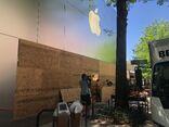 Apple Bethesda Row boarded 2020-06-01