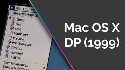 Mac OS X Developer Preview
