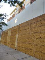 Apple Clarendon boarded 2020-06-01