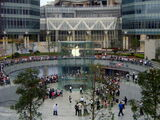 Apple Store grand opening Shanghai, China