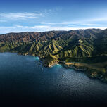 MacOS Big Sur landscape bright 6K