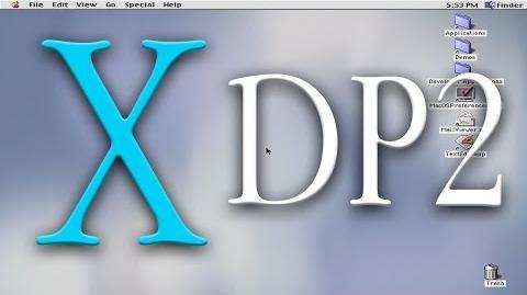 Mac OS X Developer Preview 2