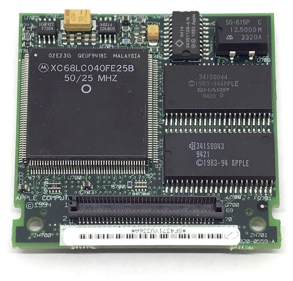 Motorola XC68LC040FE25B PowerBook 520 processor card.jpg