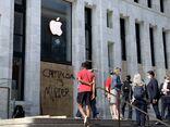 Apple Carnegie Library boarded 2020-06-01 mayor