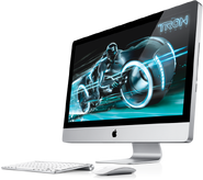 IMac 2011 wireless keyboard mouse Tron Legacy