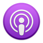 Apple Podcasts macOS App Icon Old