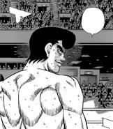 Takamura announcing that he will take Kamogawa to the Tokyo Dome