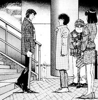 Ippo meeting Sanada