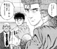 Hama talking about Sanada