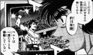 Ippo watching Martinez - manga v 56 - 01