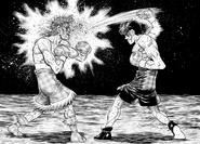 Takamura defeating Dragon