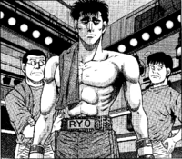 Mashiba vs Ippo - with coach