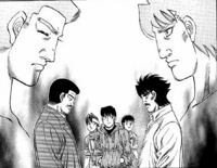 Shinoda and Fuji meet