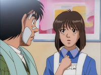 Mashiba Kumi and Ippo's First Talk