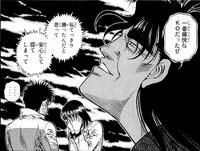 Kumi hearing about Ippo's loss