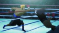 Hawk Second Ring Out Anime