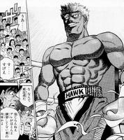 Bryan Hawk showing his body
