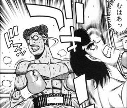 Mouse vs Takamura - Ropes