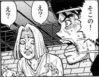 Umezawa tells Kaneda to look after Taihei
