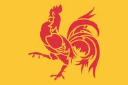 Drapeau officiel de la Wallonie