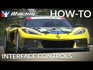 IRacing How-To - Interface Controls