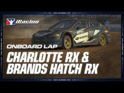 Rallycross Onboard - Charlotte RX & Brands Hatch RX