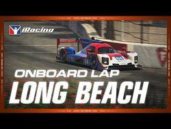 Long Beach Onboard Lap - Dallara P217