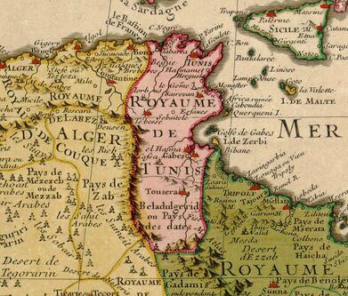 Guillaume Delisle Tunis 1707.jpg