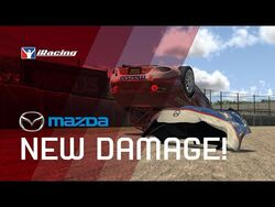 IRacing New Damage Model - Global Mazda MX-5 Cup