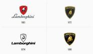 Lamborghini-logo-evolution