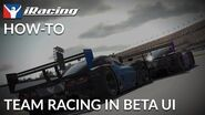 IRacing How-To Team Racing in BETA UI