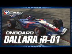 Dallara iR-01 - Onboard Laps