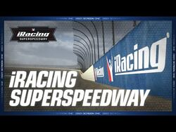 NEW CONTENT -- iRacing Superspeedway - Available Today!