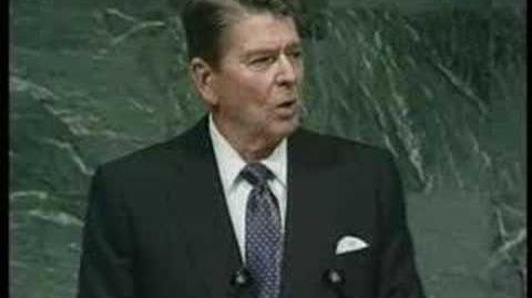 Reagan beszéde az ENSZ-ben