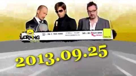 ClassFM MorningShow teljes adás 2013 09 25 CHEMTRAIL Előzetes!, Bot Zoli interjú