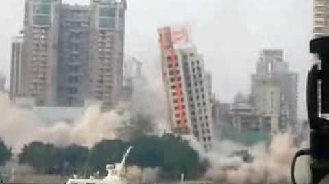 Chinese Demolition Fail