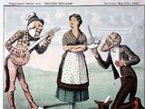 United Ireland/Cartoons 1884