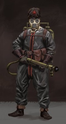 Rusviet Flamethrower