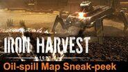 Iron Harvest - New Oil-Spill Map Sneak-peek