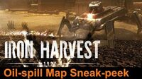 Iron Harvest - New Oil-Spill Map Sneak-peek