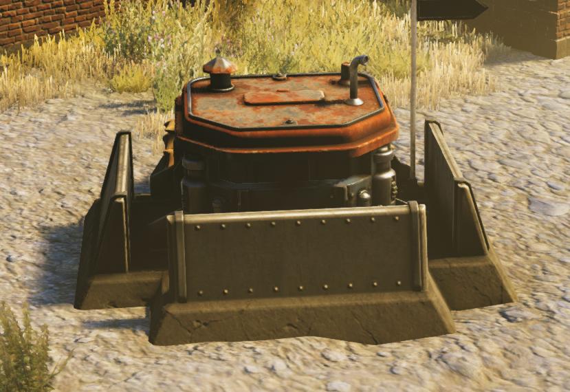 Saxon Unarmed Bunker