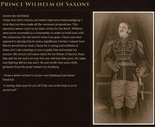 Prince Wilhelm Lore Codex