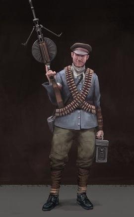 Polanian Machine Gunner