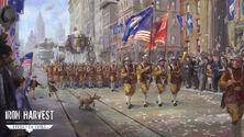 USonia military march art