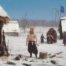 Nordic Kingdoms Village Art