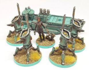 Vesna Tesla Army Scythe