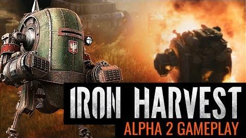 Iron Harvest - Alpha 2 Gameplay