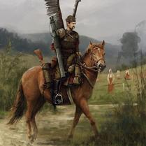 Polonian horse rider