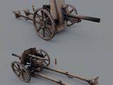 Saxon Field Cannon