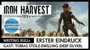 Iron Harvest - Writing Bulls Best Of Gamescom 2019 -Deutsch-